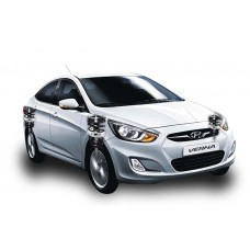 Indisuspension Buffer - Hyundai Verna New (Fluidic)